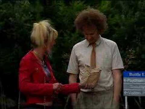 Jill and Glen feed the ducks - Nighty Night - BBC comedy