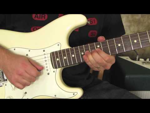 Guitar bend lick - inspired by Jimmy Hendrix