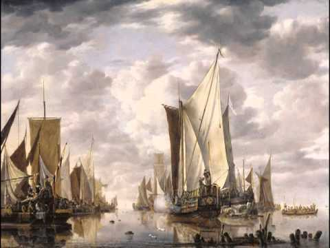 Shipping in a Calm, Jan van de Cappelle
