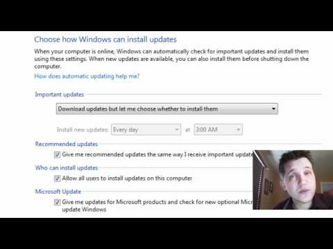How To Change The Way Windows 7 Downloads & Installs Updates
