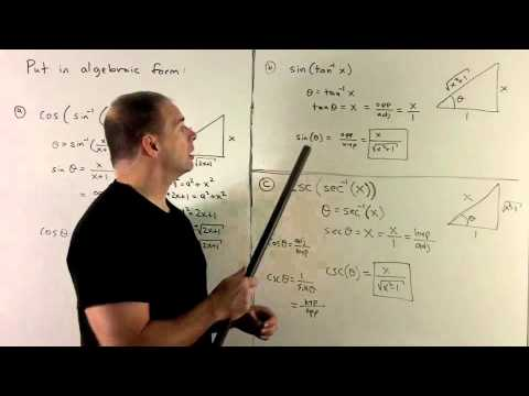 Evaluating Inverse Trig Expressions 3