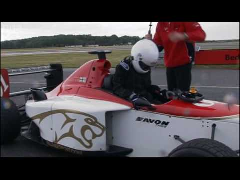 Vanessa Mae: Motor racing - The Making of Me - BBC