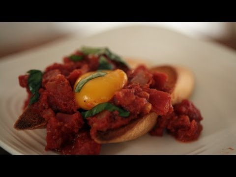 Eggs In Spicy Tomato Sauce: Make It (How to) || KIN EATS