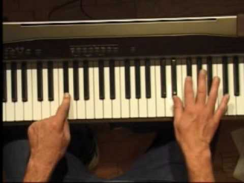 Piano Lesson - How to Play the F#/Gb major scale (right hand)