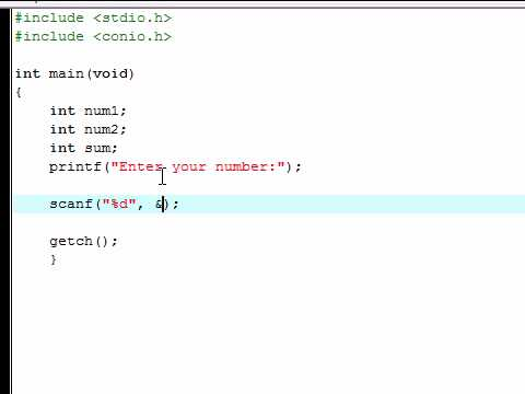 C Programming Tutorial - 2 - Intro to Variables