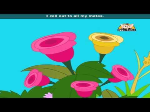 I'm a Little Butterfly with Lyrics - Nursery Rhyme