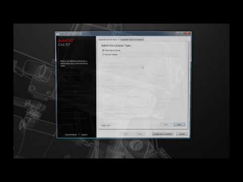 Stand-Alone Install of AutoCAD Civil 3D 2010