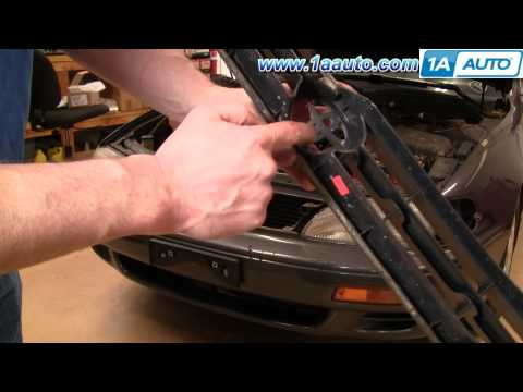 How To Install Replace Front Grille Toyota Camry 95-96 1AAuto.com