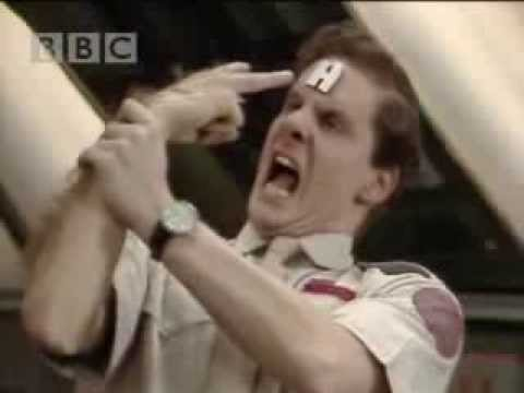 Cat loves fish! - Red Dwarf - BBC comedy