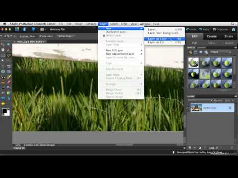 Manual Patching in Photoshop Elements