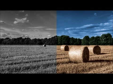 Photoshop CS6: Colorize a Black and White Photo