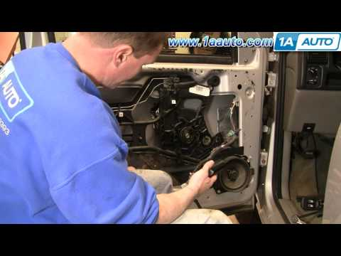 How To Install Replace Power Window Motor Chevy Venture Pontiac Montana 97-05 - 1AAuto.com