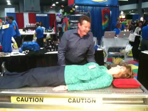 Bed of Nails at NAEYC Conference 2009