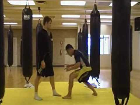 Grappling - Single Leg Takedown (basics)