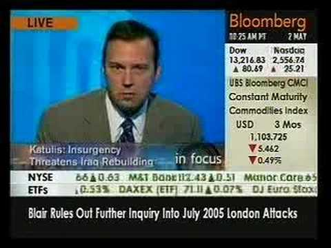 Mission Un-Accomplished? Is Iraq Being Rebuilt? Bloomberg TV