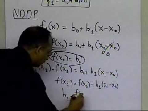 Newton's Divided Difference Polynomial: Linear Interpolation: Theory