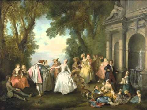 Dance before a Fountain, Nicolas Lancret