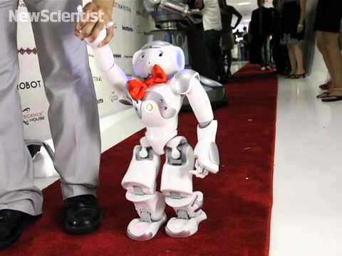 Robot red carpet