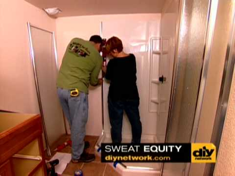 Install a Prefabricated Shower-DIY