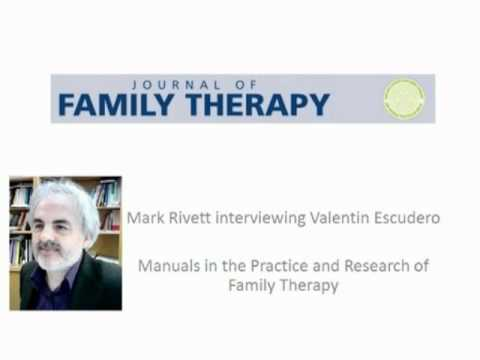 Manuals in the Practice and Research of Family Therapy- An interview with Valentin Escudero