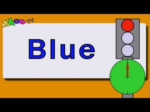 Reading Practice - Colors - Video for kids