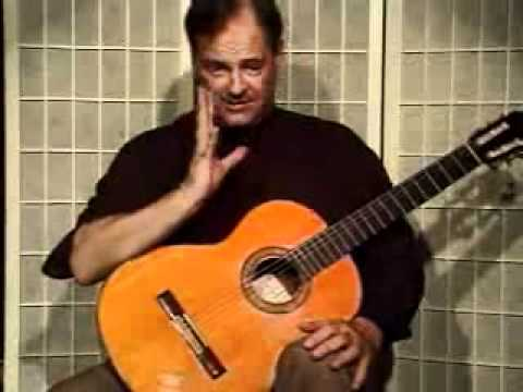 Guitar Lesson - What Is The Correct Position For The Right Hand Thumb