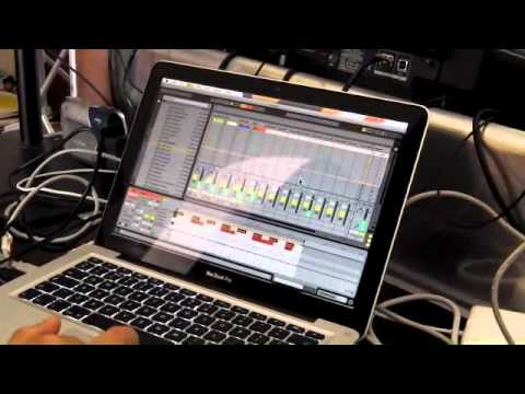Ableton Live Tutorial video 3 with Danny Lewis
