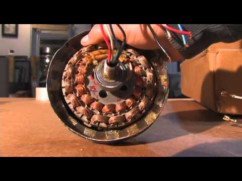 CEILING FAN GENERATOR ALTERNATOR DIY