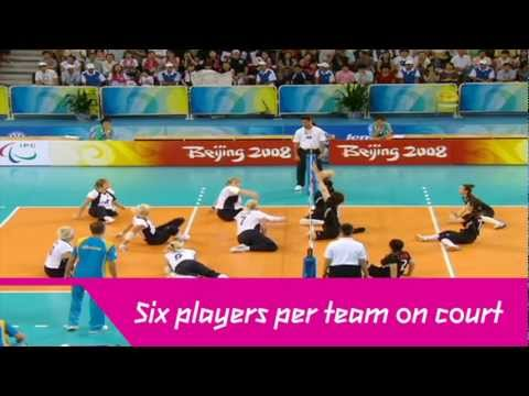 London 2012 - Sitting Volleyball
