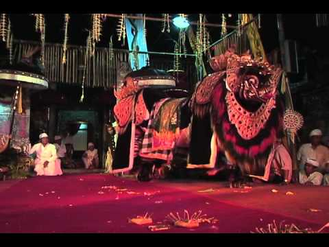 Balinese Boar Barong Dance Performance