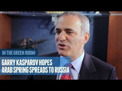 Garry Kasparov Hopes Arab Spring Spreads to Russia