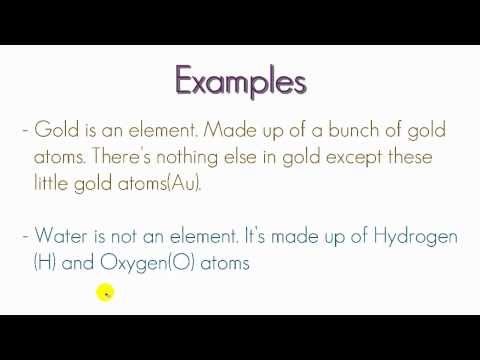 Chemistry Lesson - 4 - Pure Substances