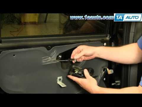 How To Install Replace Rear Inside Door Handle Ford Escape Mercury Mariner 01-07 1AAuto.com