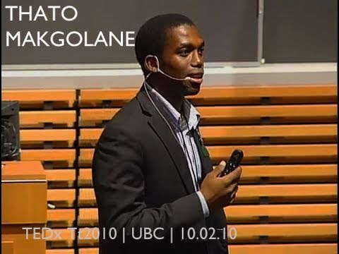 TEDxTerryTalks 2010 - Thato Makgolane - A Vehicle for Change
