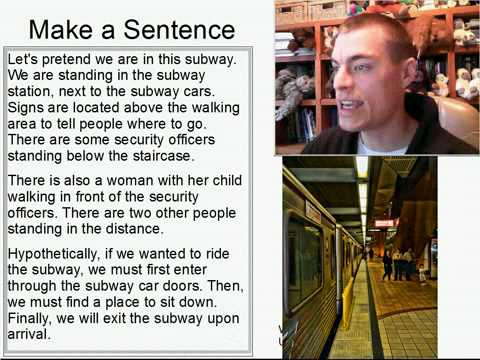 Learn English Make a Sentence and Pronunciation Lesson 121: In the Subway