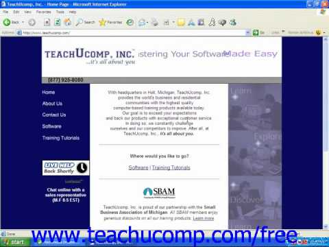 HTML Tutorial HTML Resources Training Lesson 1.11