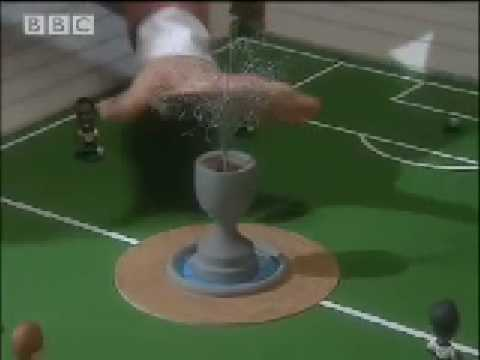 Football pitch makeover comedy sketch - Alistair McGowan - BBC