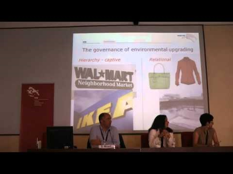 Prof. Stefano Micelli - Environmental upgrading in Global Value Chains part 2