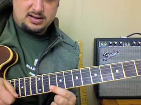 Blues Guitar Lesson - Blues Lick