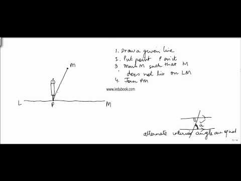515.$ CBSE Class VII Maths,  ICSE Class VII Maths -  Drawing Parellel Lines