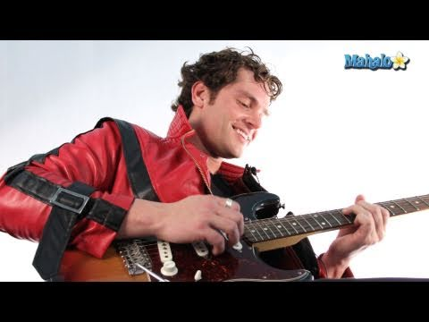 """How to Play """"Billie Jean"""" by Michael Jackson on Guitar"""