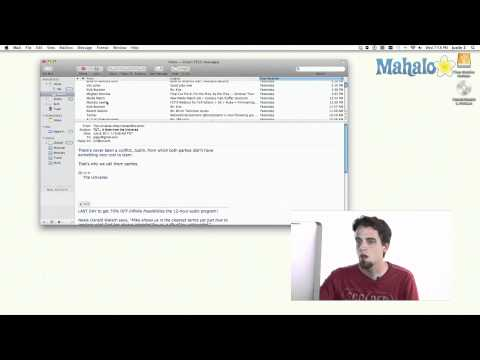 Mail - Filtering Junk - Learn Mac OS Snow Leopard