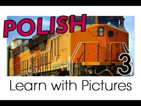 Learn Polish with Pictures - Getting Around in Vehicles