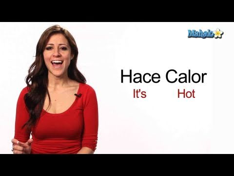 "How to Say ""It's Hot"" in Spanish"