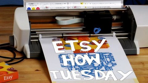 How-Tuesday: Kirigami with the Craft ROBO