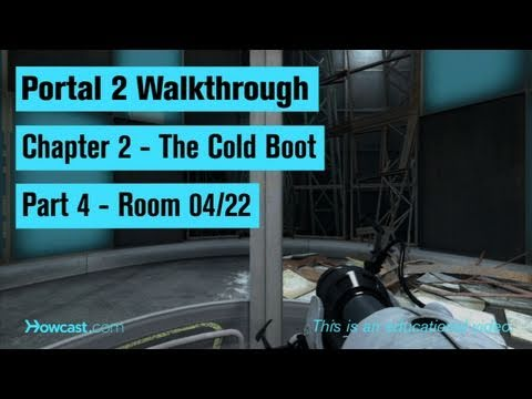 Portal 2 Walkthrough / Chapter 2 - Part 4: Room 04/22