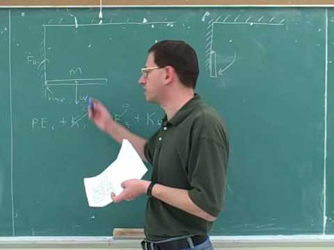 Rotational statics and dynamics problems (5)