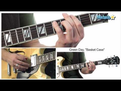 "How to Play ""Basket Case"" Intro and Verse by Green Day on Guitar"