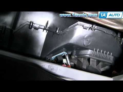 How To Install Replace Heater AC Fan Speed Resistor Ford Taurus Mercury Sable 96-07 1AAuto.com