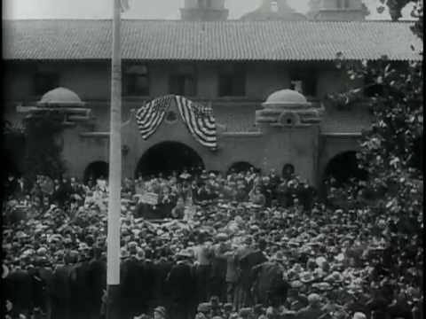 Theodore Roosevelts Reception in Albuquerque, N. M., 1916